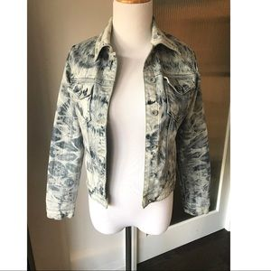 Acid wash Jean jacket from Monica's Jeans